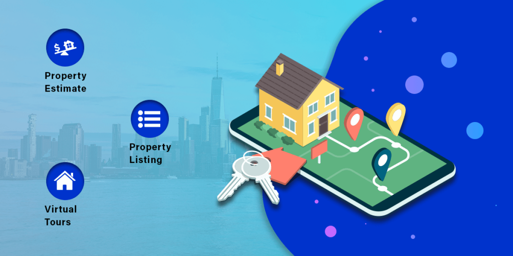 features of real estate app